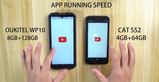 Performance comparison of #OukitelWP10 Vs Cat S52🔥 Both comes with slightly same price tag but much difference in performance, check out full video to know which one perform better👉www.tomtop.com Buy #OukitelWP10🛒: www.tomtop.com