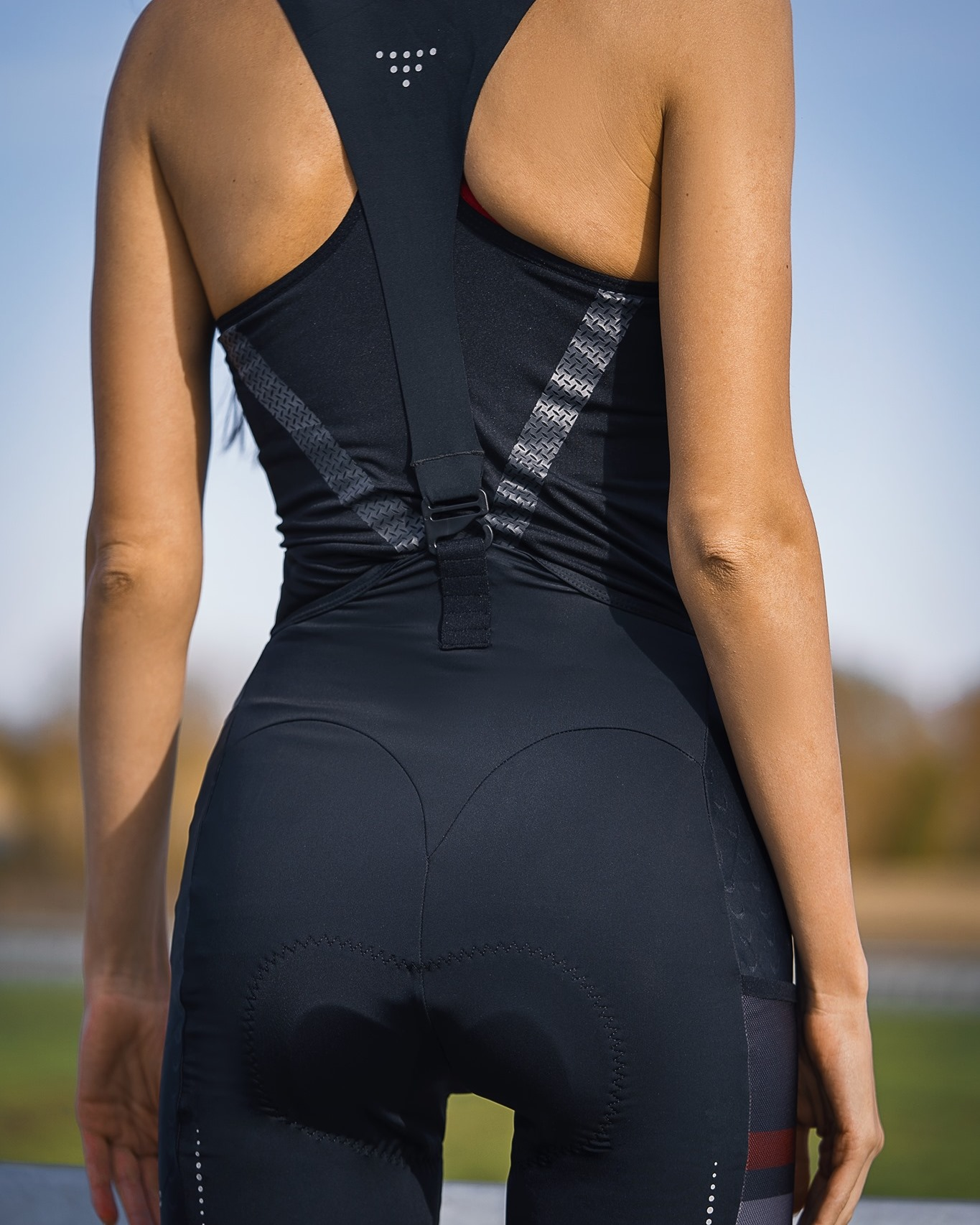 One of the essentials in long ride, Bib short.  L0C05114 brings the comfort and function when #cycling , chamois imported from Italy good for 3 hours ride,