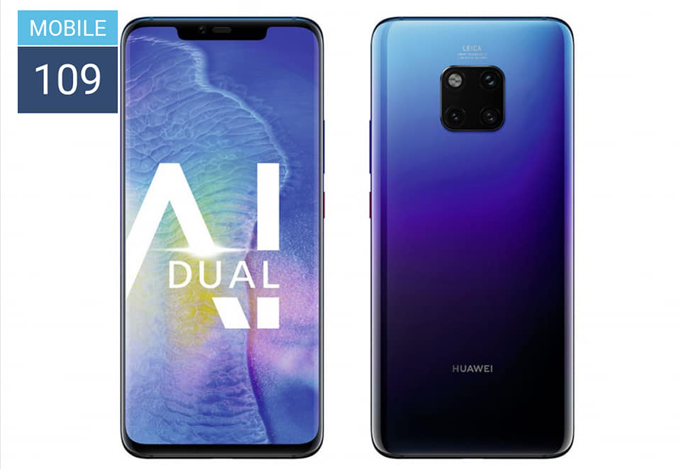 DxOMark for Huawei Mate 20 Pro is finally revealed by the smartphone camera testing company DxOMark. Huawei Mate 20 Pro scored same as Huawei P20 Pro i.e. 109. It still leads the chart.