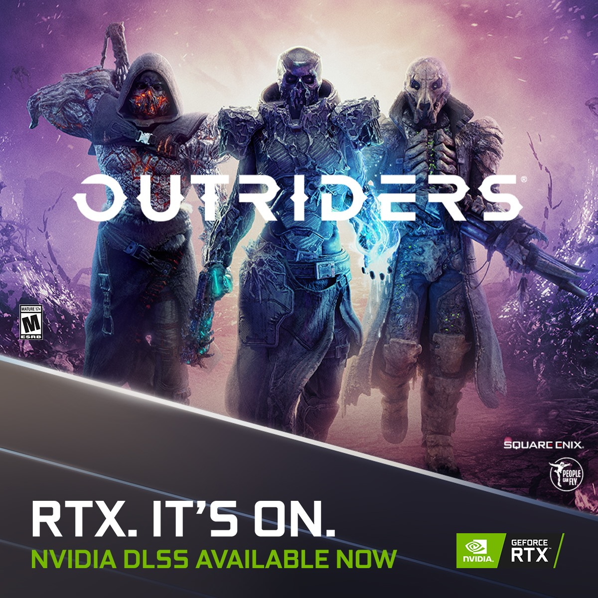 Outriders is now available enhanced with NVIDIA DLSS to accelerate performance by up to 73% at 4K.