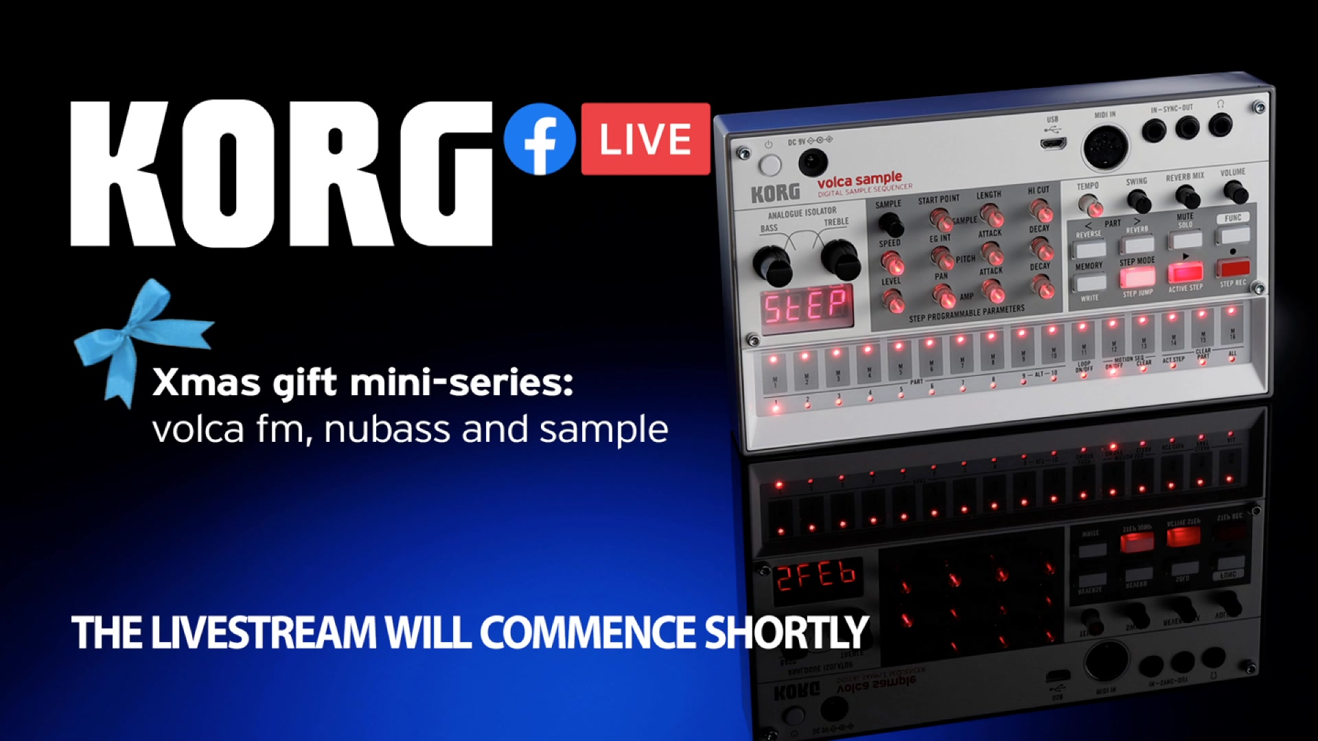 This time we're looking at another powerful trio of volcas: fm, nubass, and the 2nd generation sample.