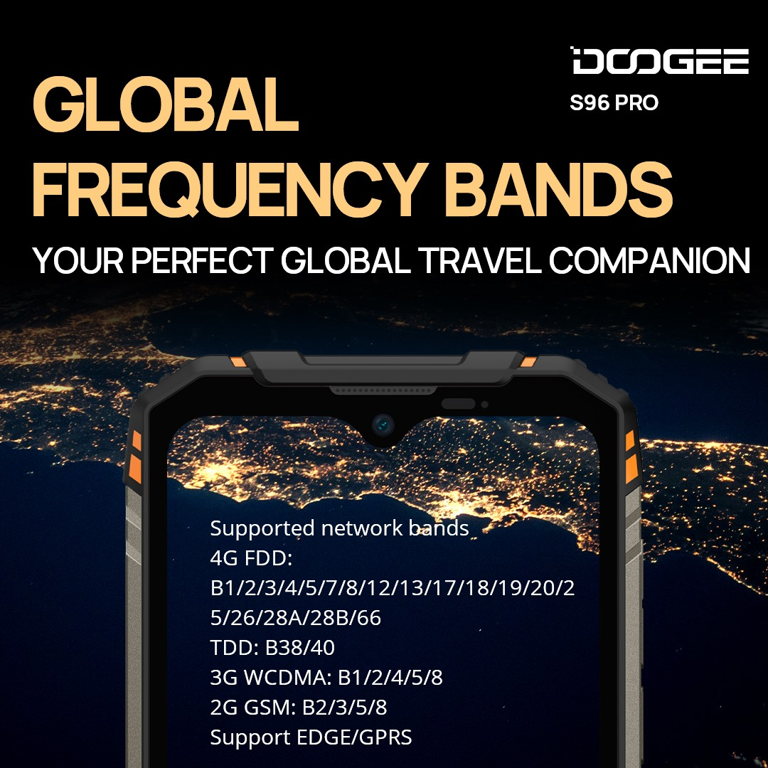 DOOGEE S96 PRO is really Powerful Device. 💪💪💪