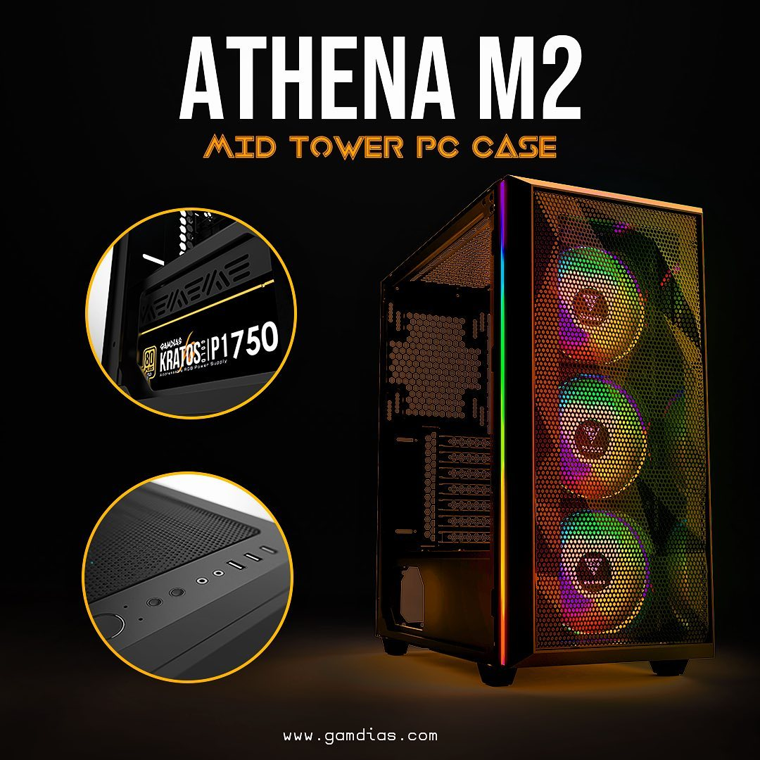 Care to share your build?? Build it with the best airflow case!