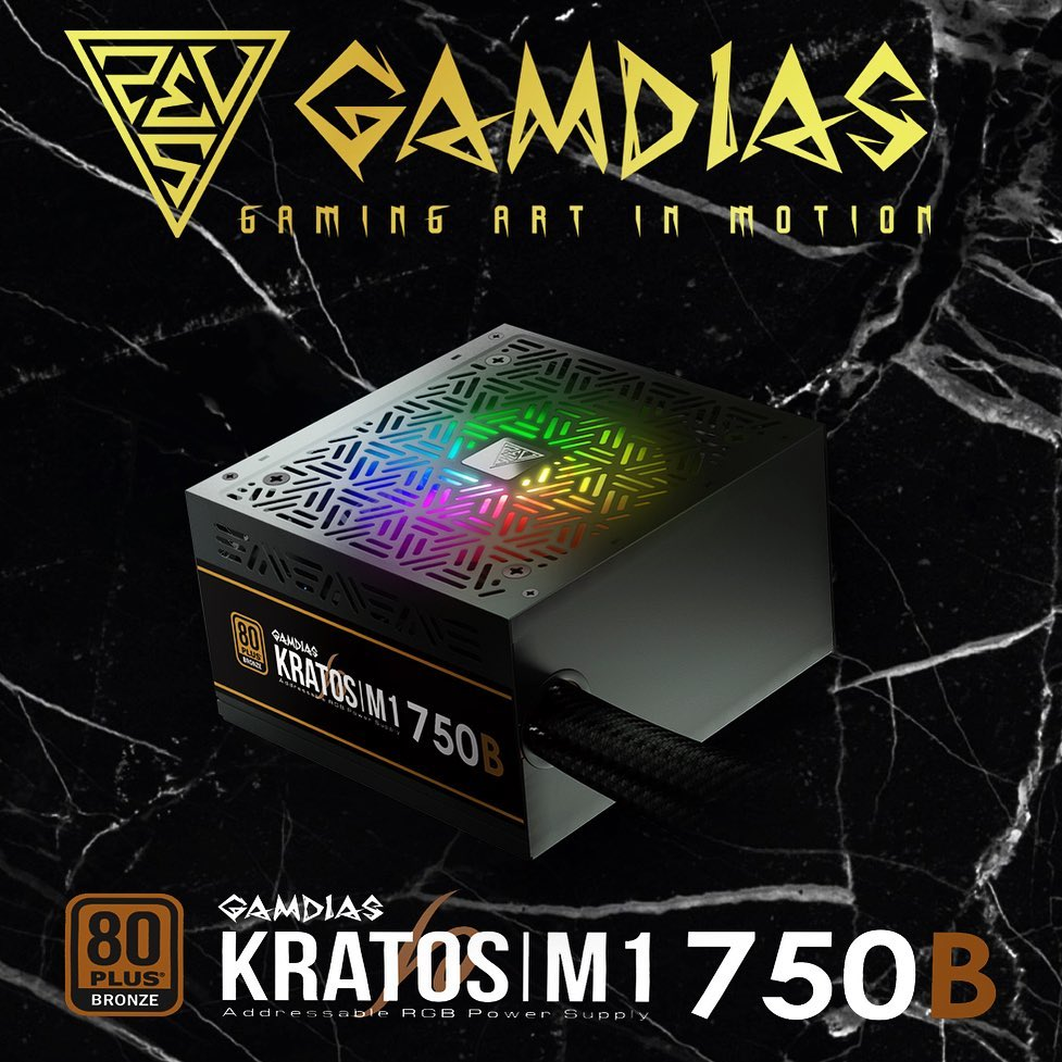 KRATOS|M1 750B Addressable RGB Power Supply Unit