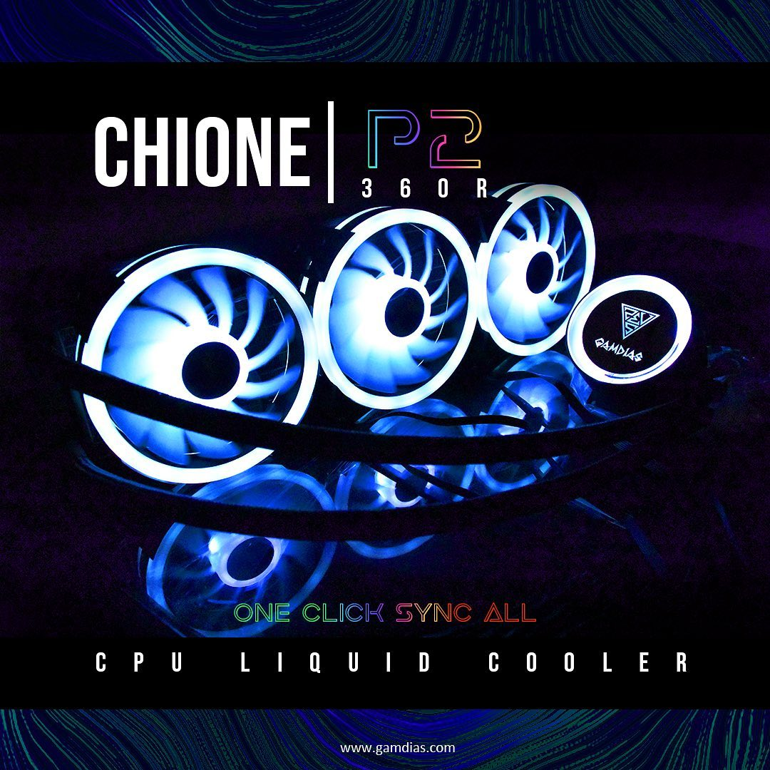 Cool it off🥶 with CHIONE|P2 360R AIO Liquid Cooling Optimum❄️cooling for your awesome rig! >>>>>>>>>>>>>><<<<<<<<<<<<<<<<... 🔴Overclock your CPU with no worries! 🔴Bring the RGB goodness! 🔴Silent & Powerful! ==============================