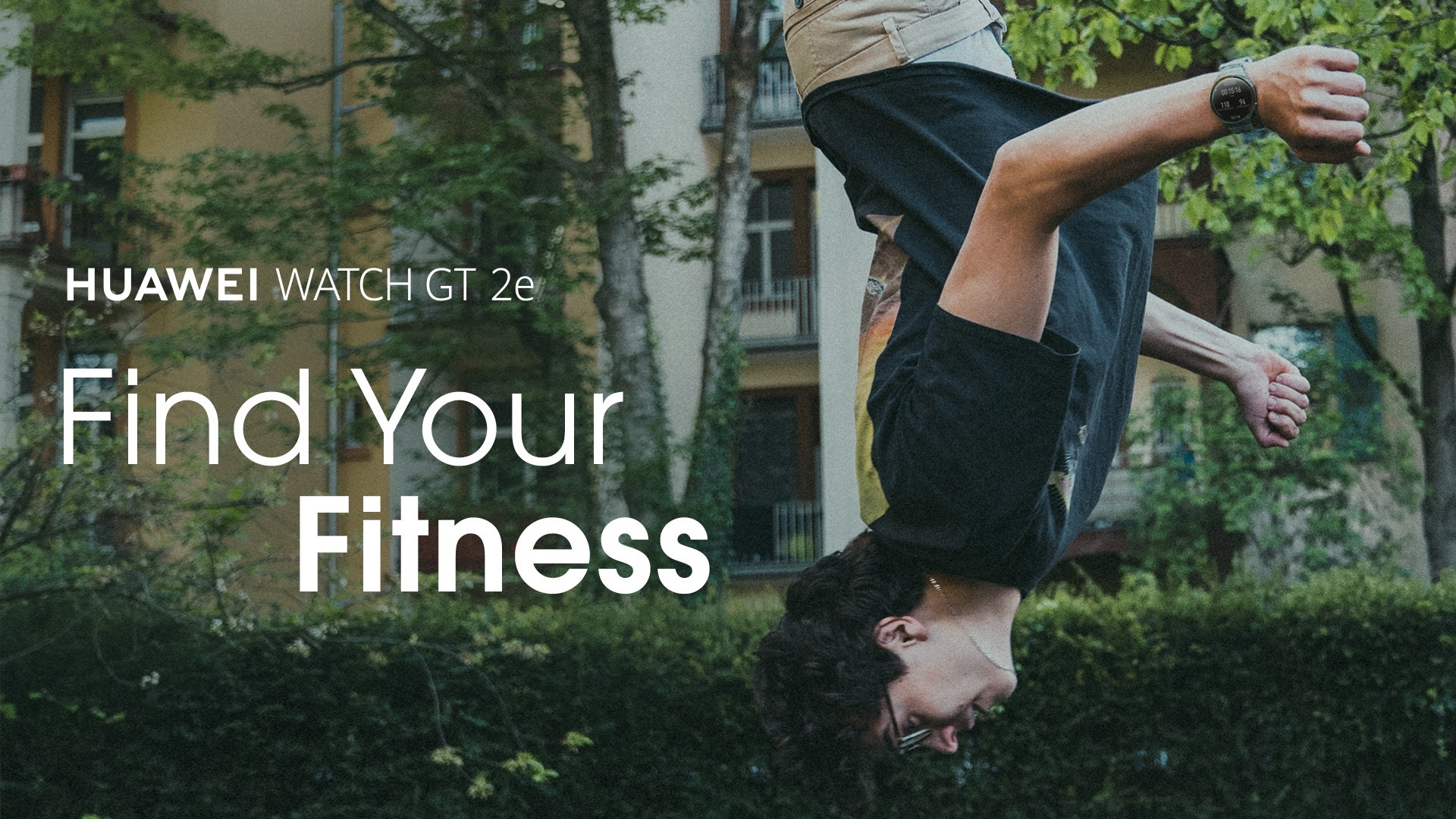Health on your wrist. Get inspired by Birdseye and stay on track with your workouts with #HUAWEIWATCHGT2e