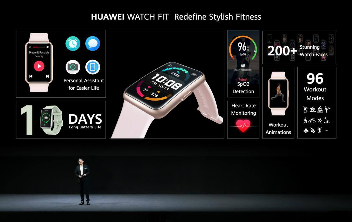 With 10 days of battery life, 200+ stunning watch faces and your very own personal assistant, #HUAWEIWATCHFIT is an activity tracker like no other🏃