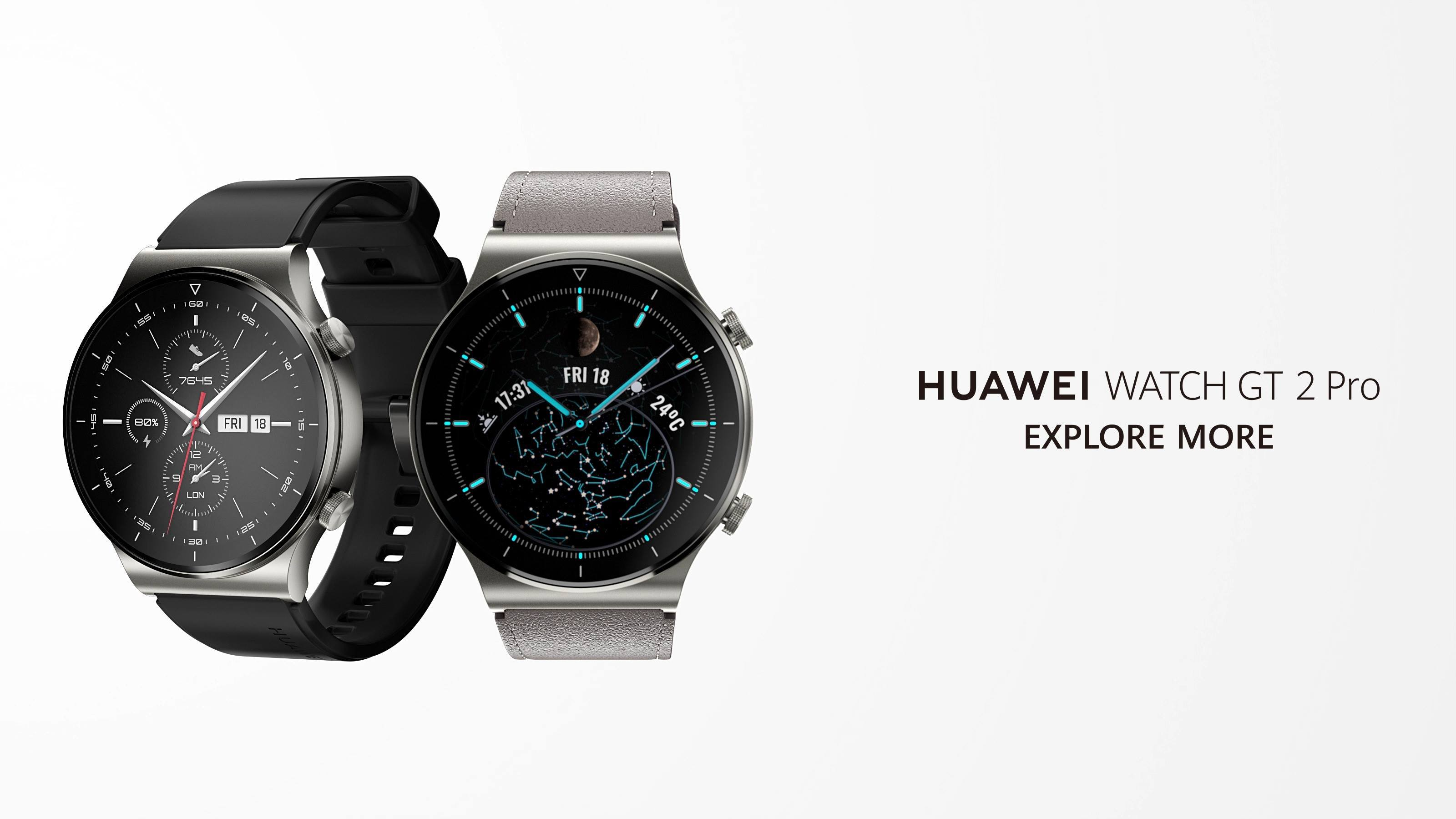 For those who want to Explore More, #HUAWEIWATCHGT2Pro is the perfect companion🙏